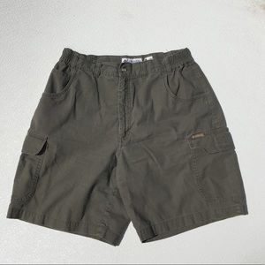 Columbia Shorts high waisted green Cotton 10